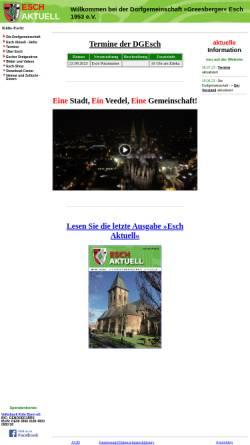 Vorschau der mobilen Webseite esch-aktuell.de, Esch