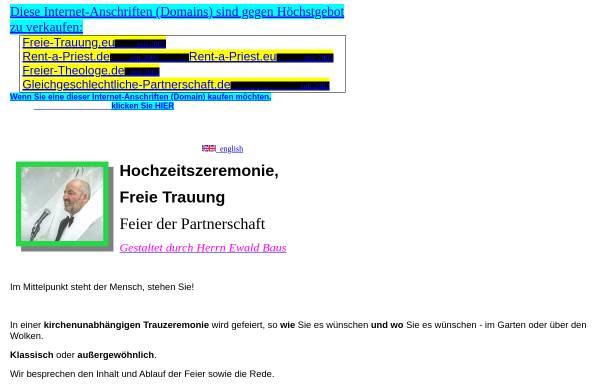 Vorschau von www.ewald-baus.onlinehome.de, Baus, Ewald