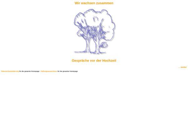 Vorschau von www.ehevorbereitung-linzgau.de, Ehevorbereitungsseminare im Dekanat Linzgau