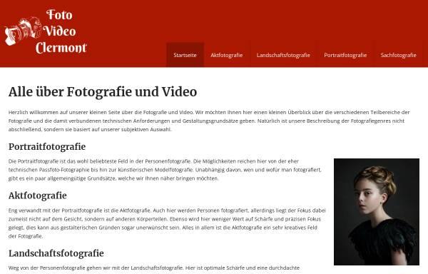 Vorschau von foto-video-clermont.de, Foto & Video Clermont