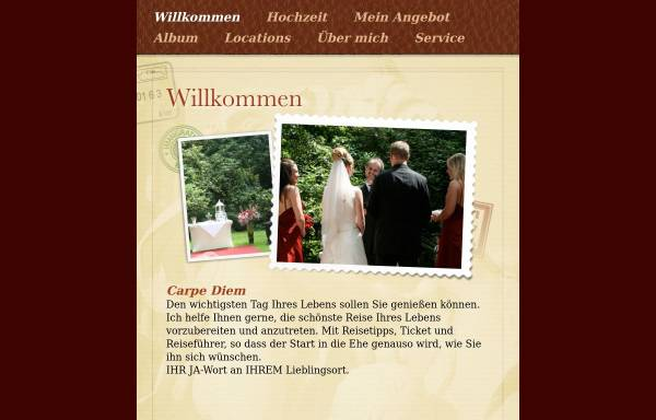 Vorschau von www.freie-trauungen.de, Freie Trauungen