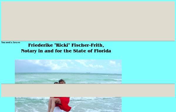 Vorschau von hochzeit-in-florida.tripod.com, Heiraten in Florida