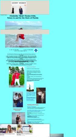 Vorschau der mobilen Webseite hochzeit-in-florida.tripod.com, Heiraten in Florida