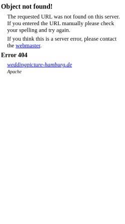 Vorschau der mobilen Webseite weddingpicture-hamburg.de, Jakobsen, Sven