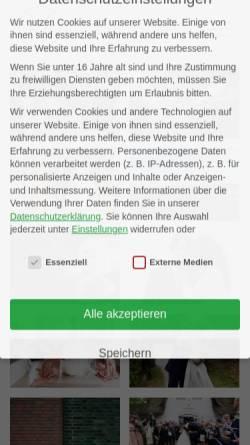 Vorschau der mobilen Webseite www.hochzeitsfotograf-hamburg.de, Michels, Roland