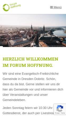 Vorschau der mobilen Webseite www.here-you-go.de, HUGO