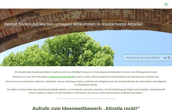 Vorschau von www.klosterbezirk-altzella.de, Förderverein im Klosterbezirk Altzella e.V.