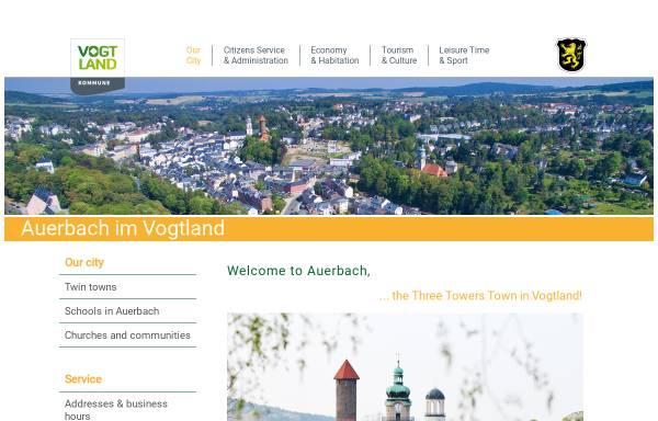 Vorschau von www.stadt-auerbach.de, Auerbach
