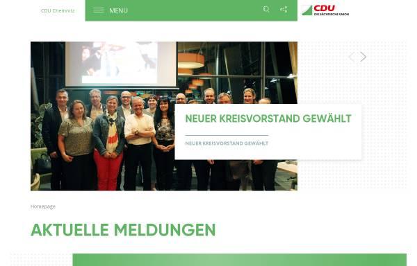 Vorschau von www.cdu-chemnitz.de, CDU Chemnitz