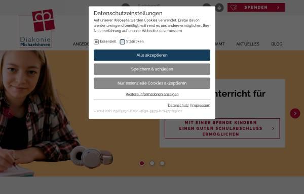 Vorschau von www.diakonie-michaelshoven.de, Berufsförderungswerk Michaelshoven e.V.