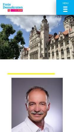 Vorschau der mobilen Webseite fdp-fraktion-leipzig.de, FDP Leipzig