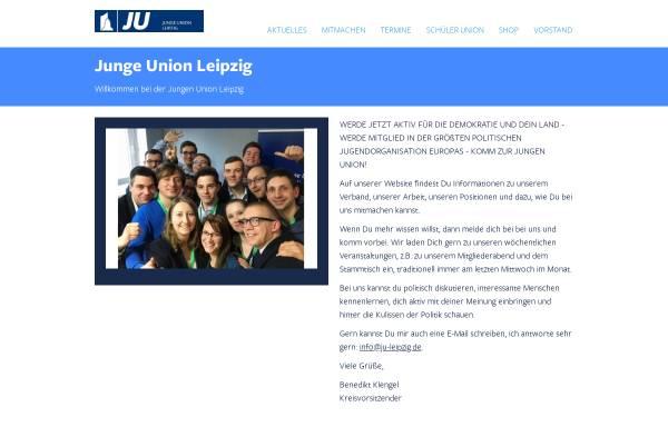 Vorschau von www.ju-leipzig.de, Junge Union Leipzig