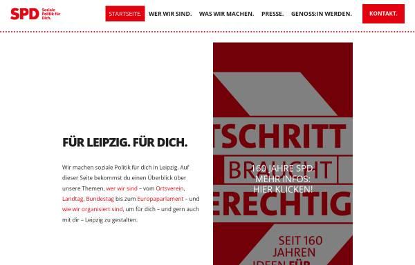 Vorschau von spd-leipzig.de, SPD-Kreisverband Leipzig-Borna