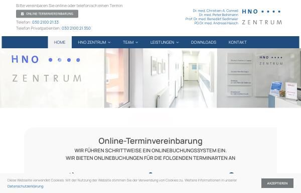 Vorschau von www.h-n-o.de, HNO-Gemeinschaftspraxis Dr. J. Held und C.-A. Conrad