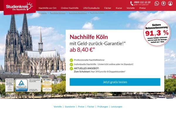 Vorschau von www.studienkreis-koeln.de, Studienkreis-Köln