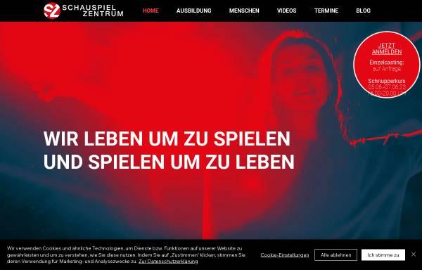 Vorschau von www.schauspiel-zentrum.de, Schauspiel Zentrum