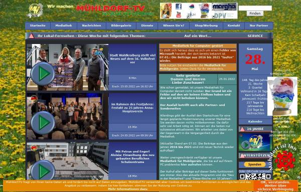 Vorschau von www.muehldorf-tv.de, Mühldorf-TV