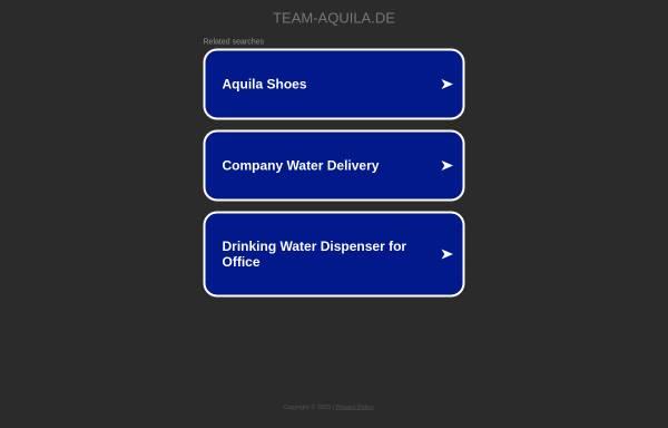 Vorschau von www.team-aquila.de, Team Aquila
