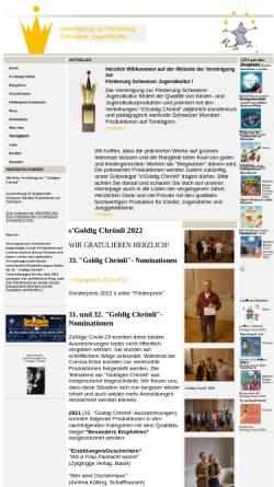 Vorschau der mobilen Webseite www.sgoldigchroenli.ch, Vereinigung zur Förderung Schweizer Jugendkultur