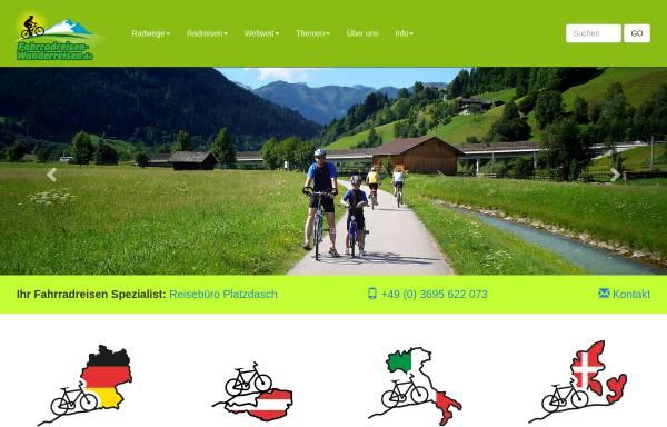 Vorschau von www.fahrrad-wandern.de, Colditzer Reisebüro