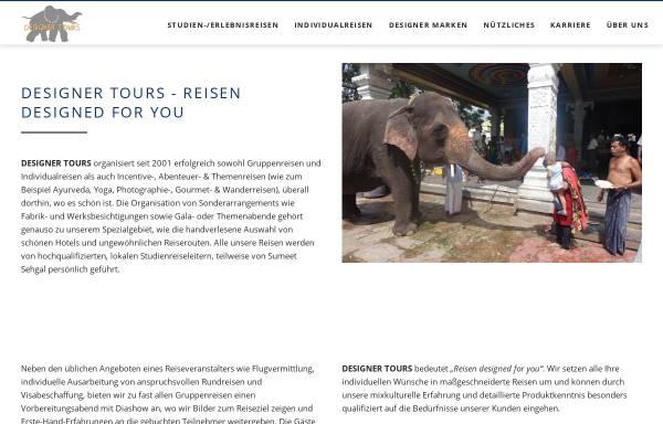 Vorschau von www.designer-tours.eu, Designer Tours