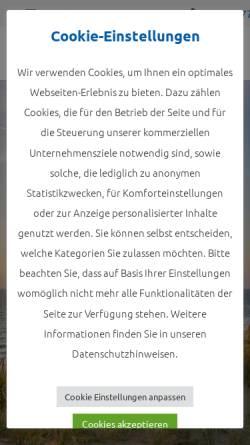 Vorschau der mobilen Webseite www.reise-treff-ludwig.de, Reise-Treff-Ludwig