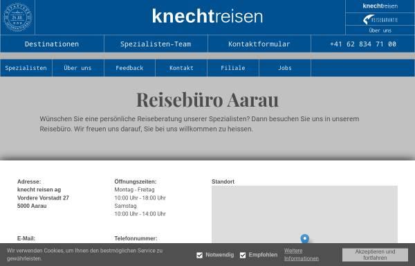 Vorschau von www.knecht-reisen.ch, Knecht Reisen