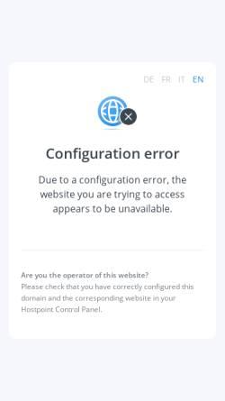 Vorschau der mobilen Webseite www.sindbad-reisen.ch, Sindbad Reisen