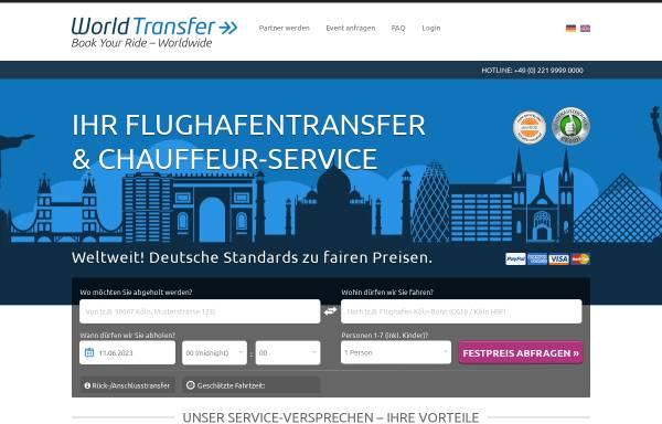 Vorschau von www.world-transfer.com, World Transfer GmbH