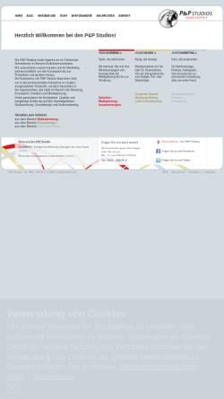 Vorschau der mobilen Webseite www.ppstudios.de, P&P Studios - Audio Agentur
