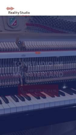 Vorschau der mobilen Webseite insstudio.de, Reality Studio
