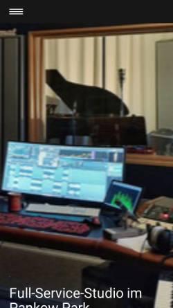 Vorschau der mobilen Webseite www.studio1058.de, Studio 1058