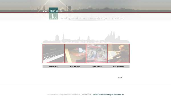 Vorschau von www.studio1141.de, Studio 1141