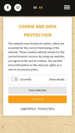 Vorschau der mobilen Webseite www.die-tonmeisterei.de, Die Tonmeisterei