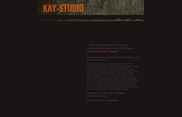 Vorschau von www.kay-studio.de, Tonstudio bei Rendsburg