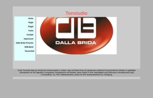 Vorschau von www.tonstudio-dallabrida.de, Tonstudio Dalla Brida