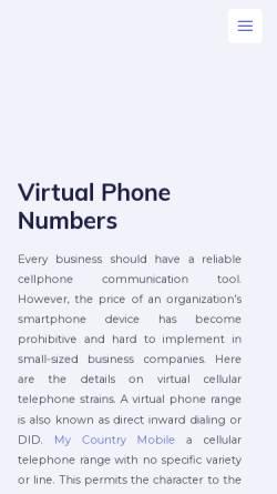 Vorschau der mobilen Webseite www.wamb.de, Tonstudio Wamb