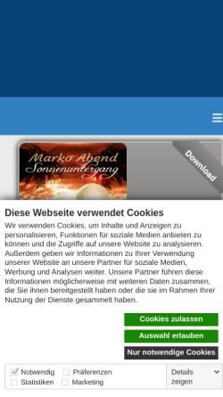 Vorschau der mobilen Webseite www.top-seven.de, Top-Seven