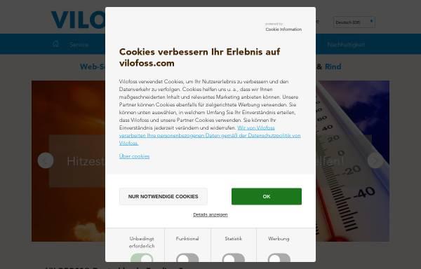 Vorschau von www.vilomix.de, Deutsche Vilomix Tierernährung GmbH