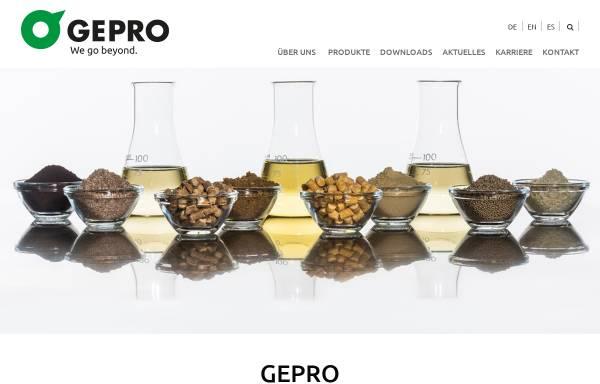 Vorschau von www.ge-pro.de, GePro - Geflügel-Protein GmbH & Co. KG