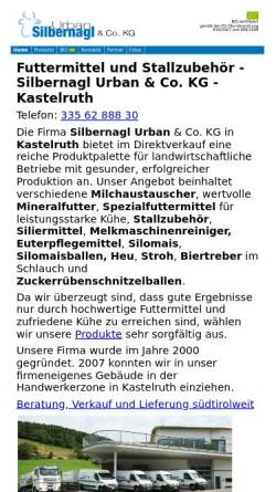 Vorschau der mobilen Webseite www.silbernagl.org, Silbernagl Urban