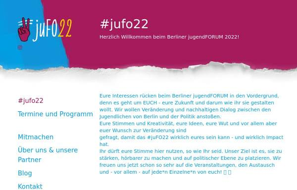 Vorschau von www.berliner-jugendforum.de, Berliner Jugendforum