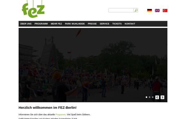 Vorschau von www.kindertag-berlin.de, Internationaler Kindertag im FEZ Wuhlheide