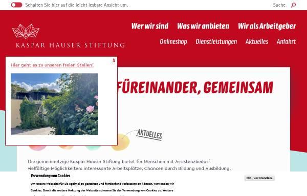 Vorschau von www.kht-berlin.de, Kaspar Hauser Therapeutikum Berlin