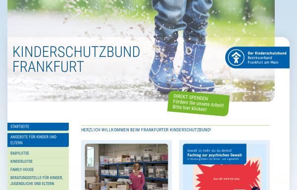 Vorschau von www.kinderschutzbund-frankfurt.de, Deutscher Kinderschutzbund