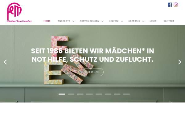 Vorschau von www.fem-maedchenhaus.de, FeM - Mädchenhaus Frankfurt