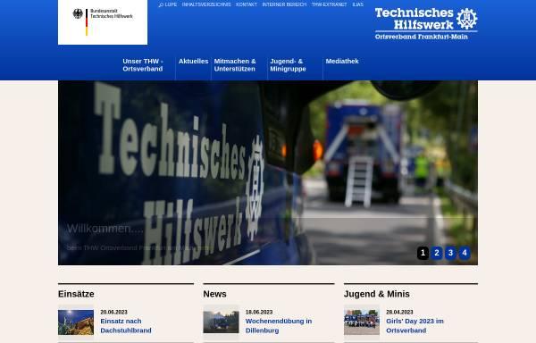 Vorschau von ov-frankfurt-main.thw.de, THW Jugendgruppe Frankfurt am Main