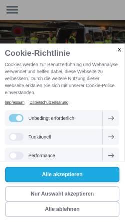 Vorschau der mobilen Webseite vk-koeln.de, Verkehrswacht Köln e.V.