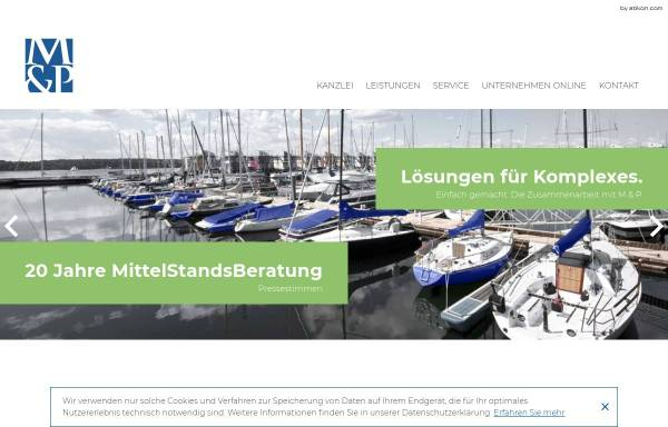 Vorschau von www.mueller-und-partner.de, Müller & Partner