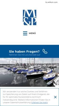 Vorschau der mobilen Webseite www.mueller-und-partner.de, Müller & Partner